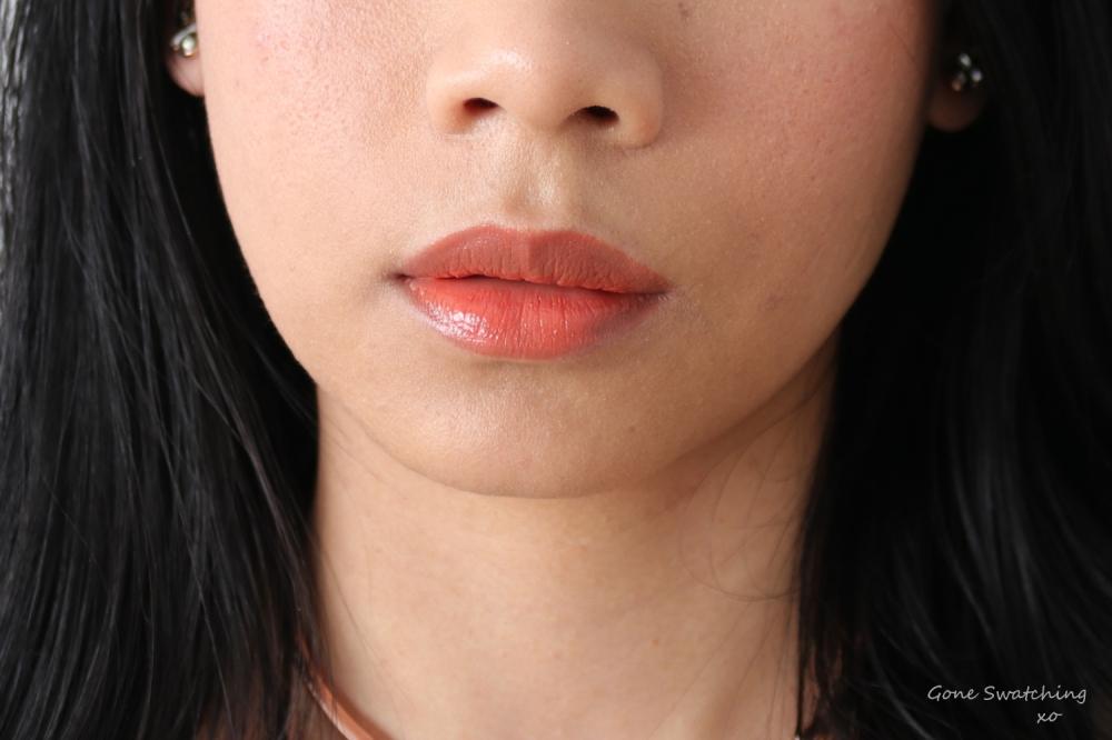 Ilia Beauty Multi-stick Lip Swatch Cheek to Cheek. Gone Swatching xo