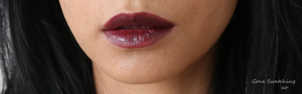 Elate Cosmetics Demure lip swatch on Asian skin. Gone Swatching xo