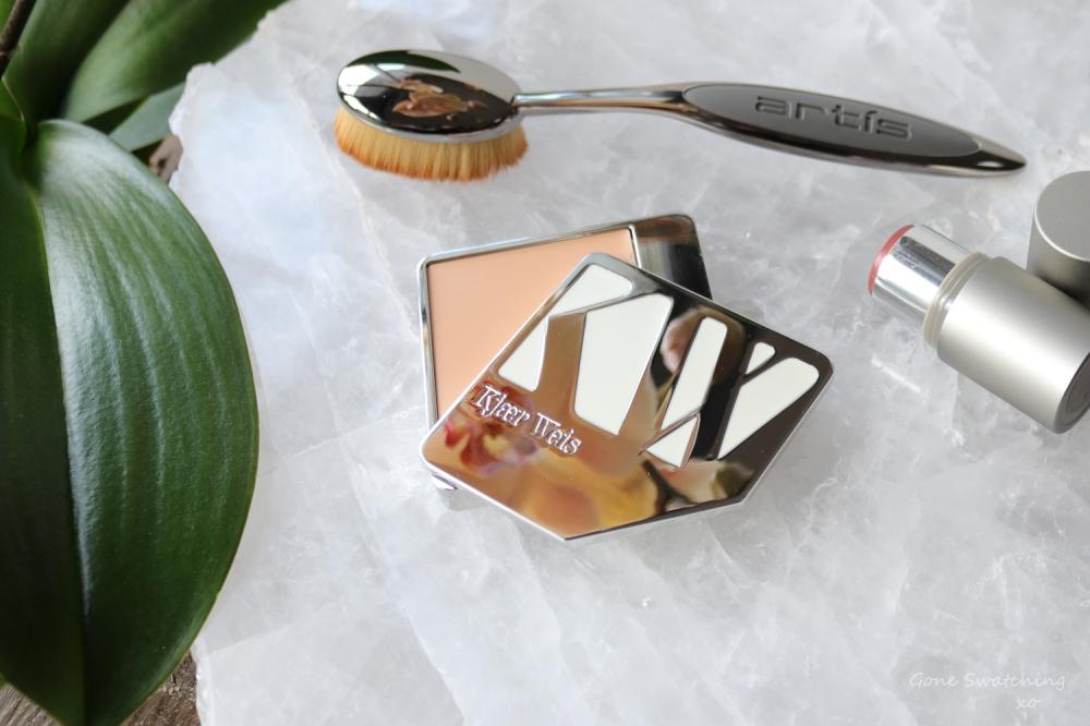 Kjaer Weis Organic Cream Foundation Review & Swatches. Subtlety & Velvety. Gone Swatching xo
