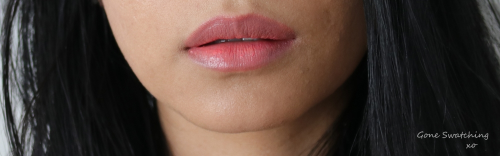 Ilia Beauty Tinted Lip conditioner review & swatches. Shell Shock. Gone Swatching xo