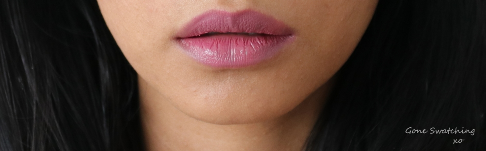 Elate Cosmetics Adore lip swatch on Asian skin. Gone Swatching xo