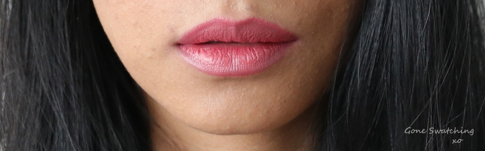 Noyah Natuural Lipstick Review & Swatches. Hazelnut Cream. Gone Swatching xo