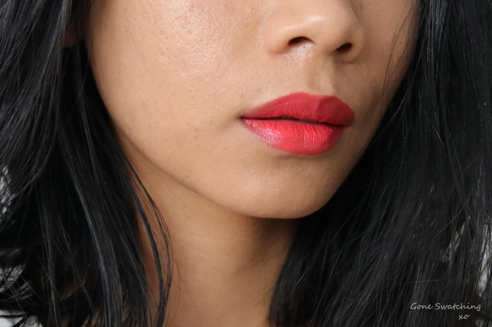 Ere Perez Carrot Colour Pot Lip Swatch Hello. Gone Swatching xo