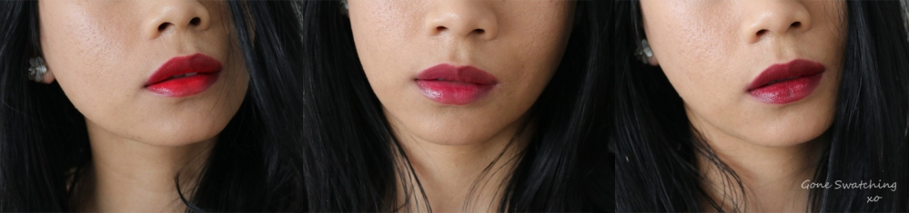 Ilia Tinted Lip Conditioner Swatches & Review. Crimson Clover, Arabian Nights & Lust for Life. Gone Swatching xo