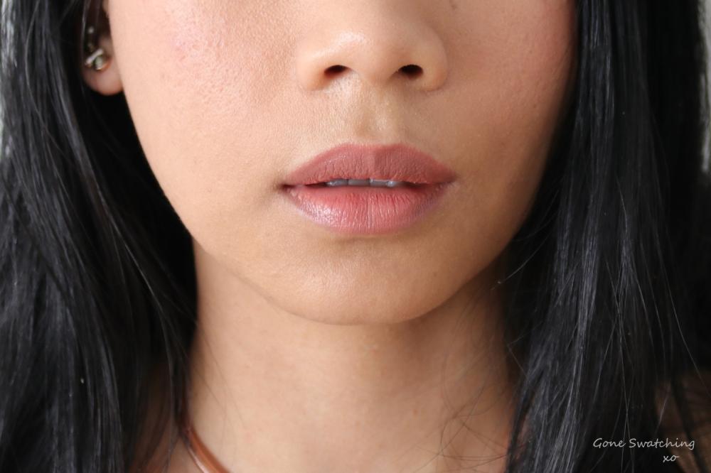 Ilia Beauty Multi-stick Lip Swatch Lady Bird. Gone Swatching xo