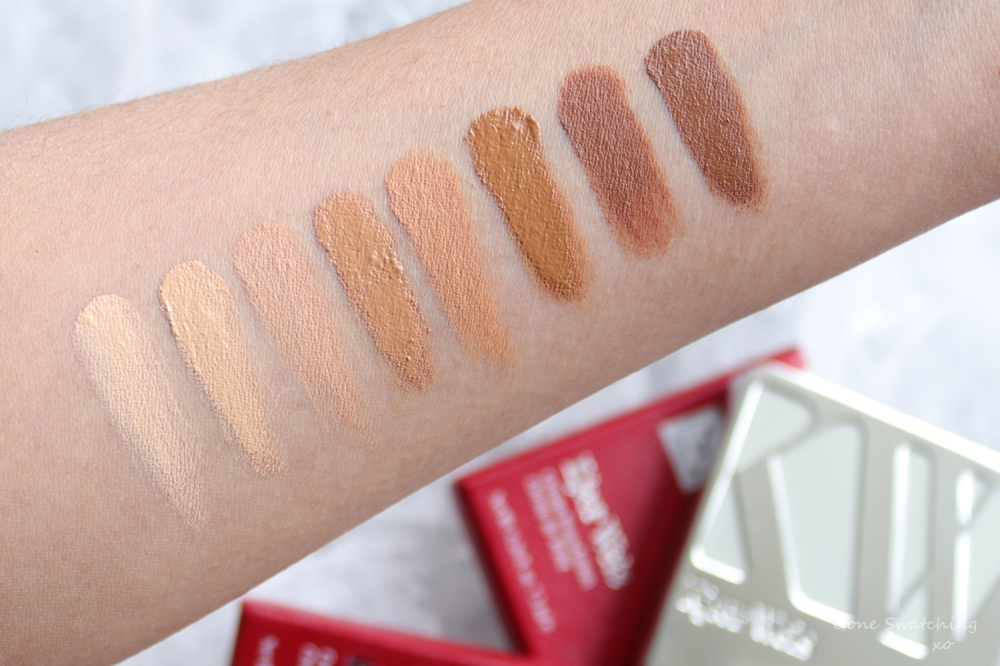 Kjaer Weis Cream Foundation Review & Arm Swatches. Gone Swatching xo