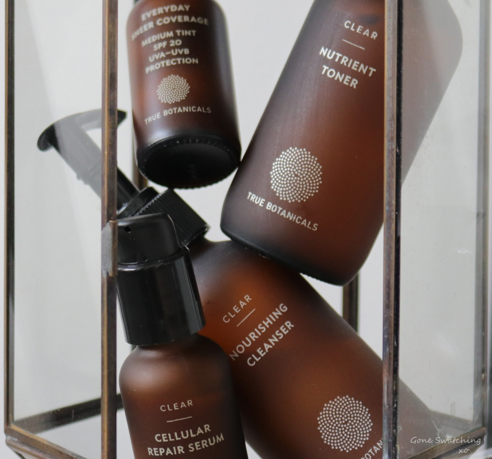 The Worst Natural & Organic Skincare & Makeup of 2019. True Botanicals Clear Collection. Gone Swatching xo