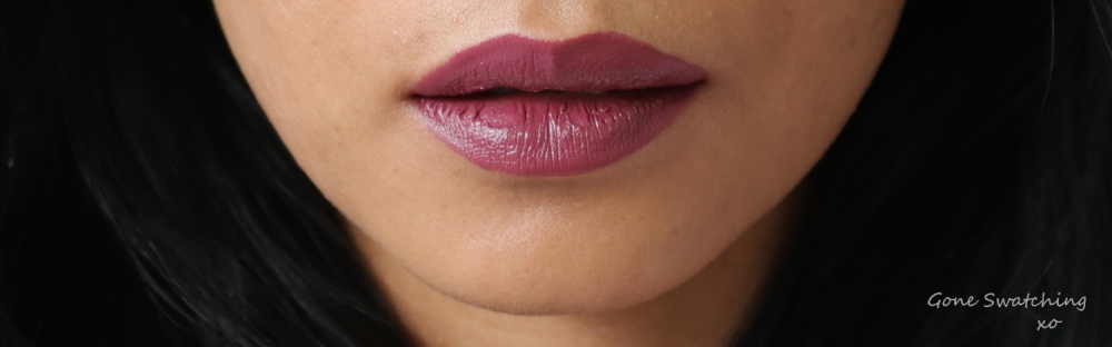 Noyah Natuural Lipstick Review & Swatches. Deeply in Mauve. Gone Swatching xo