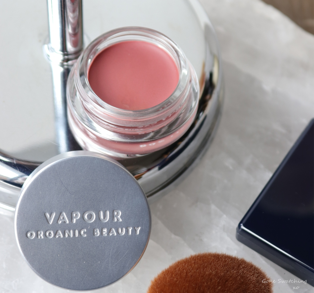 Vapour Organic Beauty Aura Multi Use Blush in Eros Review & Swatches. Gone Swatching xo