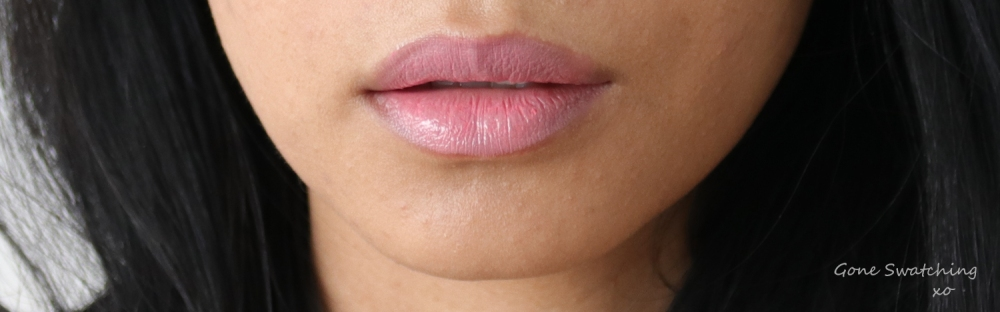 Elate Cosmetics Bloom lip swatch on Asian skin. Gone Swatching xo