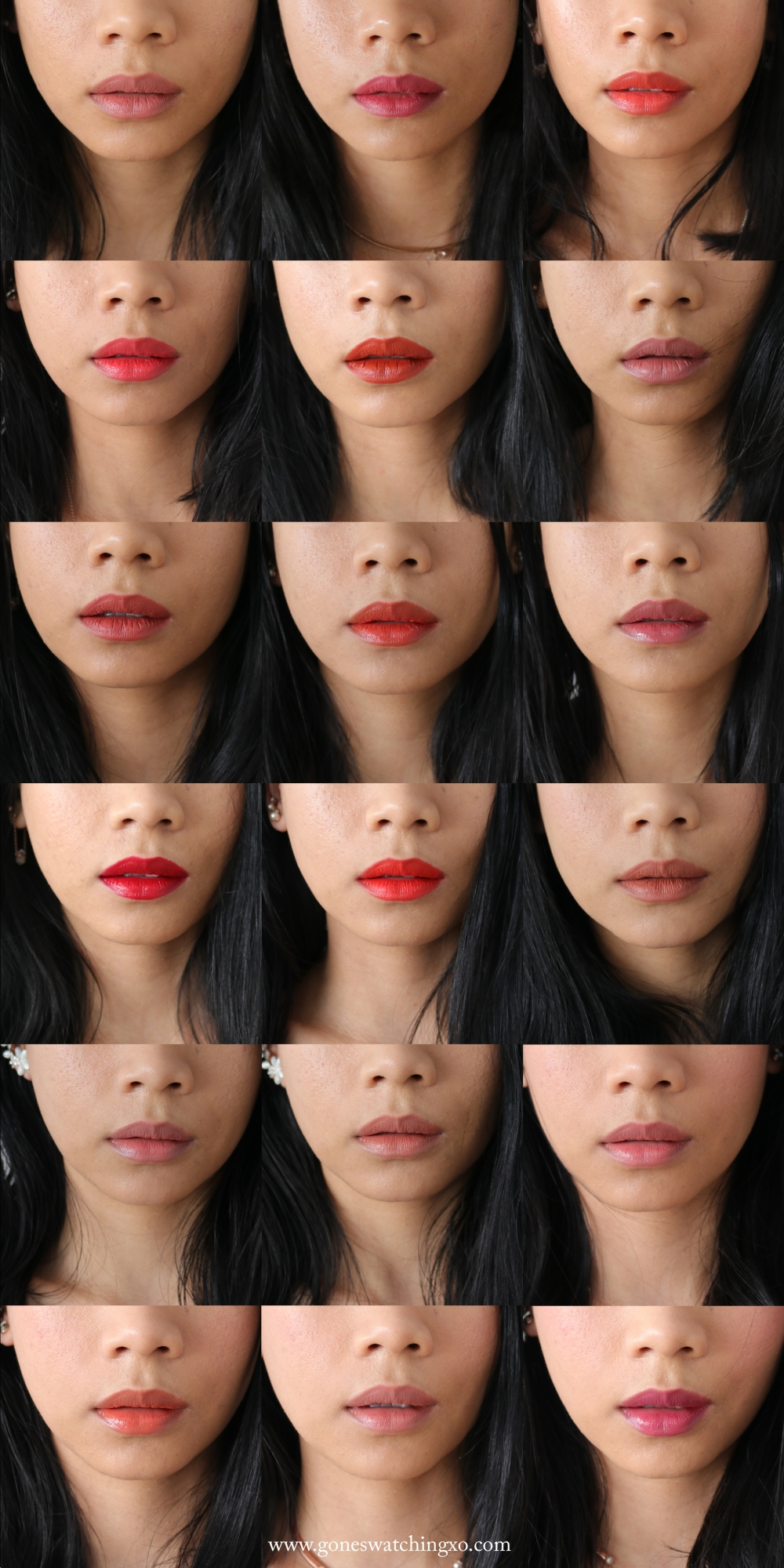 My 18 Favourite Organic & Natural Lipstick Colours of 2019. Gone Swatching xo