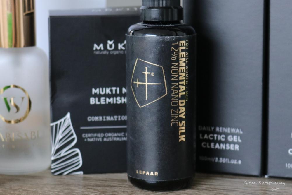 The Worst Natural & Organic Skincare & Makeup of 2019. Lepaar Elemental Day Silk. Gone Swatching xo