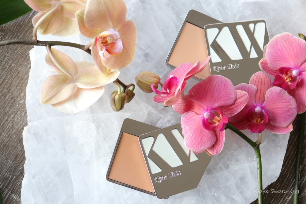 Kjaer Weis Cream Foundation Review & Swatches. Subtlety & Velvety. Green Beauty Blogger. Gone Swatching xo