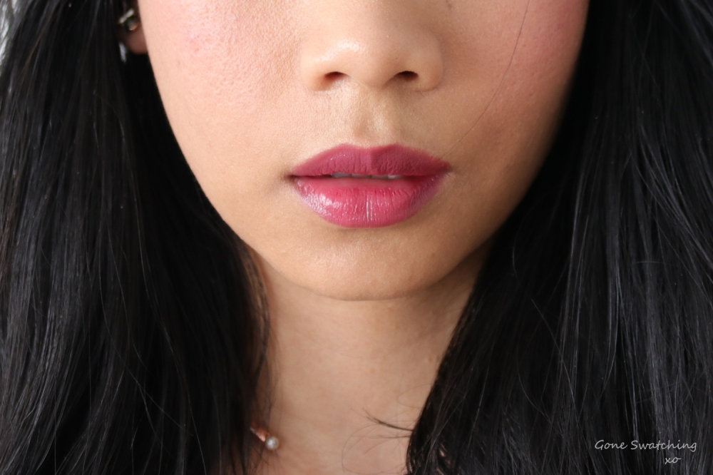 Ilia Multi-Stick Review & Swatches. A Fine Romance Lip & Cheek Swatch. Gone Swatching xo