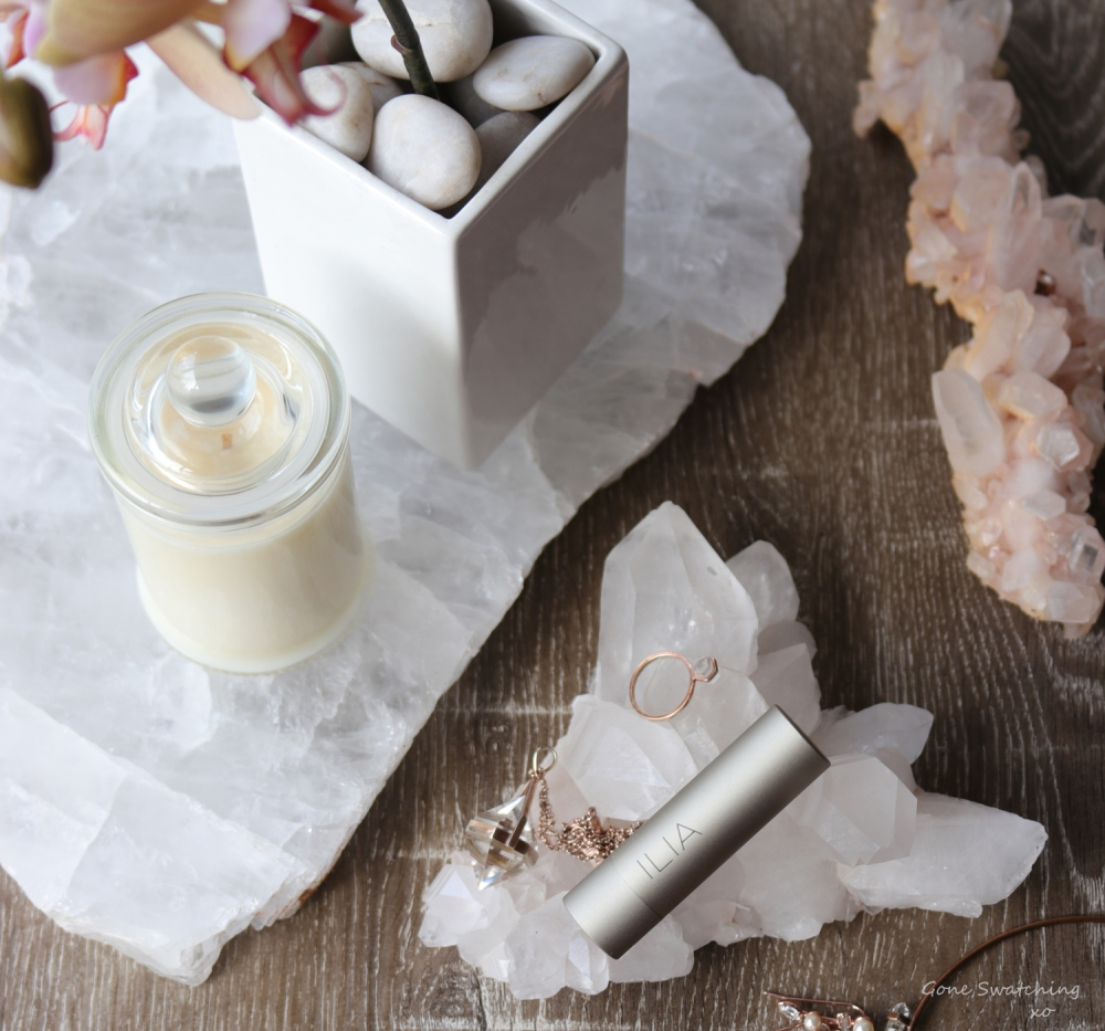 Ilia Beauty Tinted Lip conditioner review & swatches. Gone Swatching xo