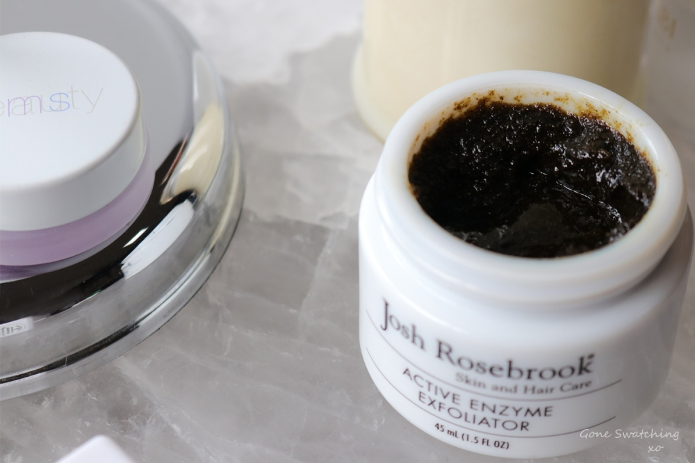 Josh Rosebrook Organic Active Enzyme Exfoliator Review. Gone Swatching xo