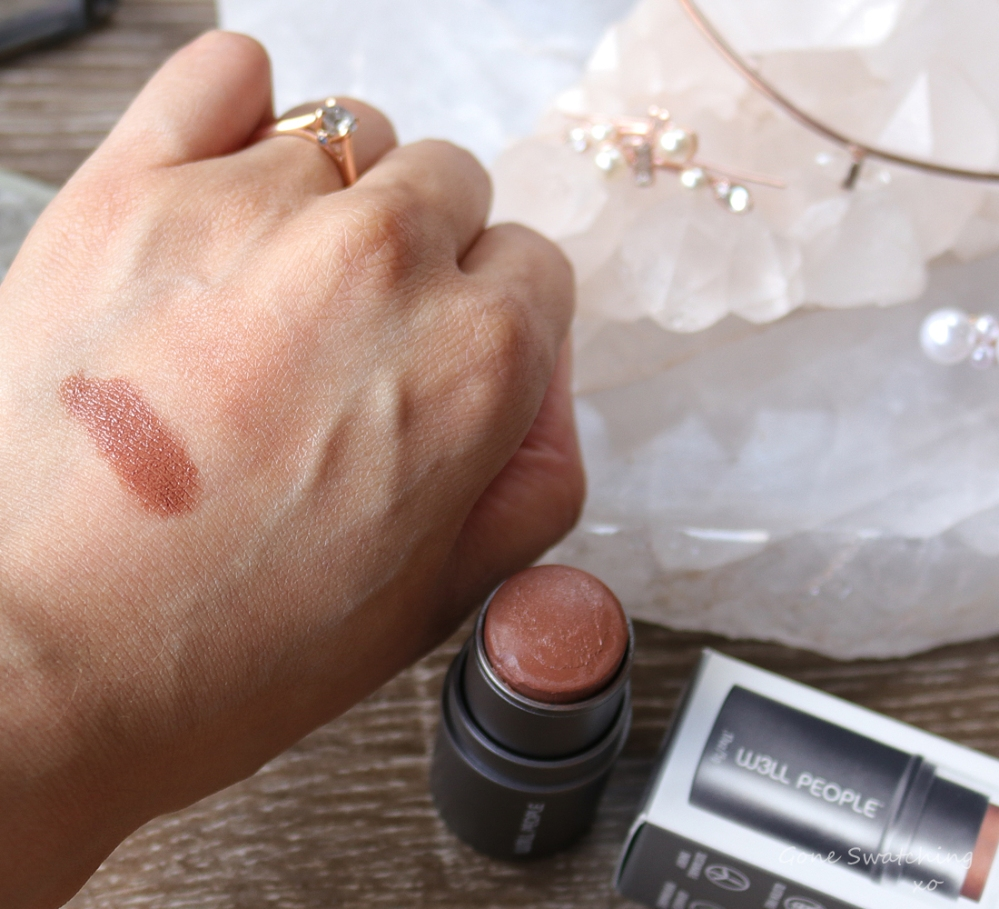 W3LL People Bio Bronzer Stick Review & Swatches. Green Beauty Blogger Gone Swatching xo