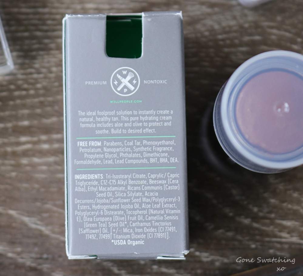 W3LL People Bio Bronzer Stick Review & Swatches. Ingredients. Green Beauty Blogger Gone Swatching xo
