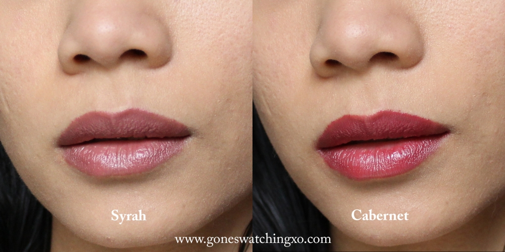 Juice Beauty Phyto-Pigments Cream Lipstick Swatches. Syrah & Cabernet. Australian Organic Beauty Blogger Gone Swatching xo