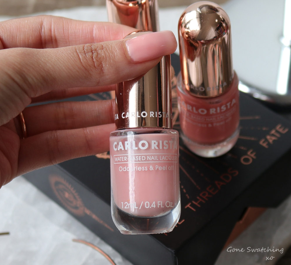 The Best Water-based, Peelable & Odourless Non-toxic Nail Polish. Carlo Rista. Australian, Asian Green Beauty Blogger Gone Swatching xo