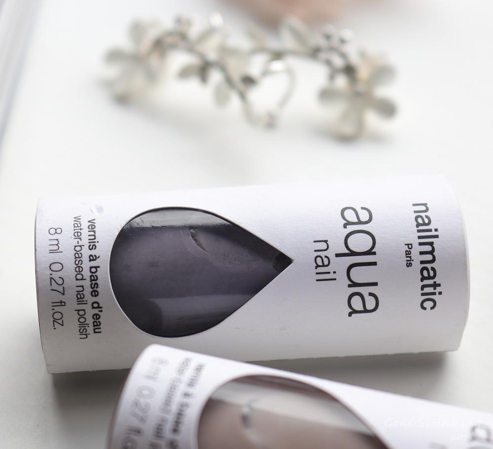 Nailmatic Aqua Nail Polish Review & Swatches. Bjork. Water based, odour free Nail Polish. Green Beauty Blogger Gone Swatching xo