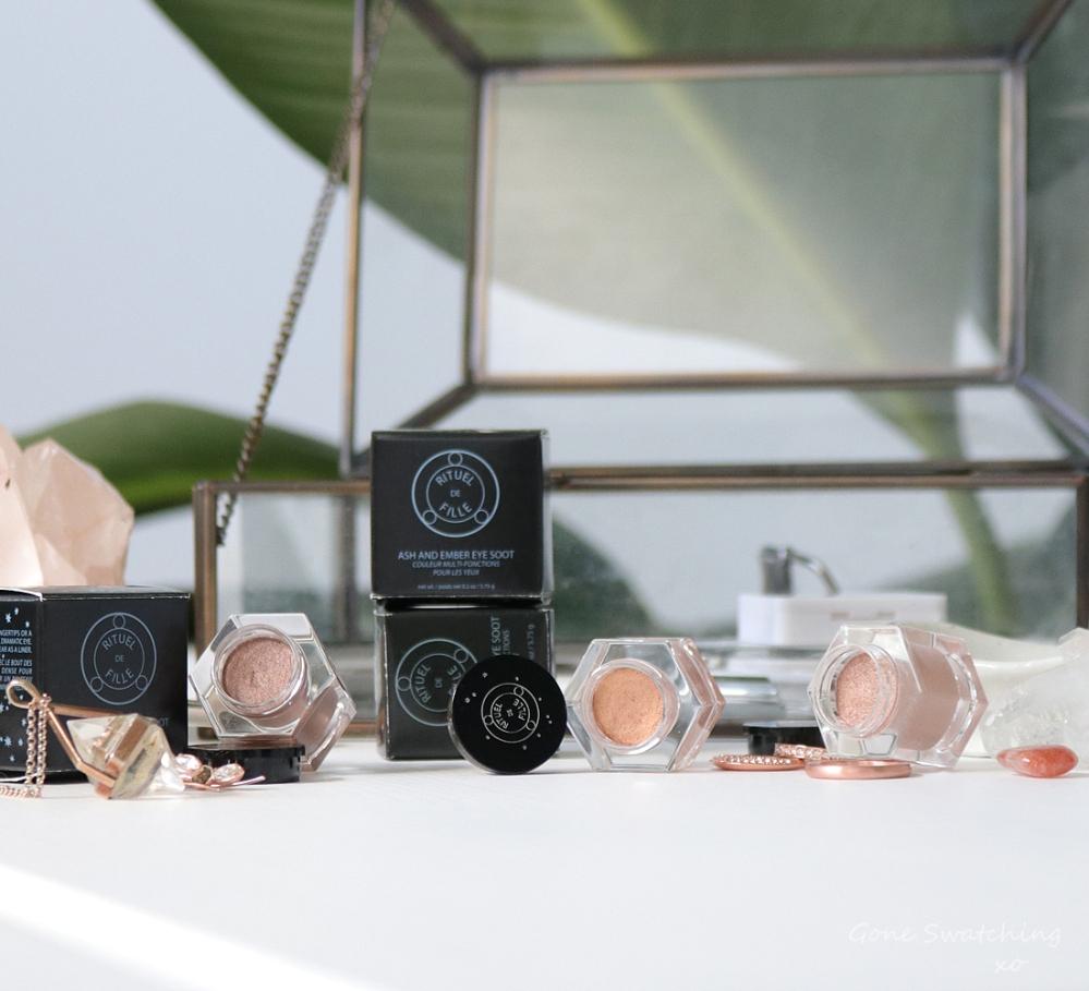 Rituel de Fille Ash & Ember Eye Soot Divinus, Sigil & Half Light. Australian Green, Natural Beauty Blogger Gone Swatching xo