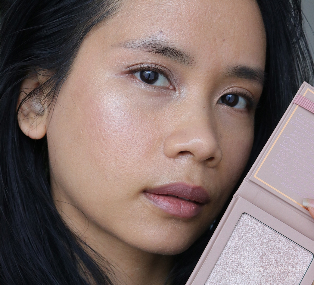 Athr Beauty Supernova Crushed Pure Diamond Highlighter Swatches on Asian skin. Aether Beauty. Gone Swatching xo