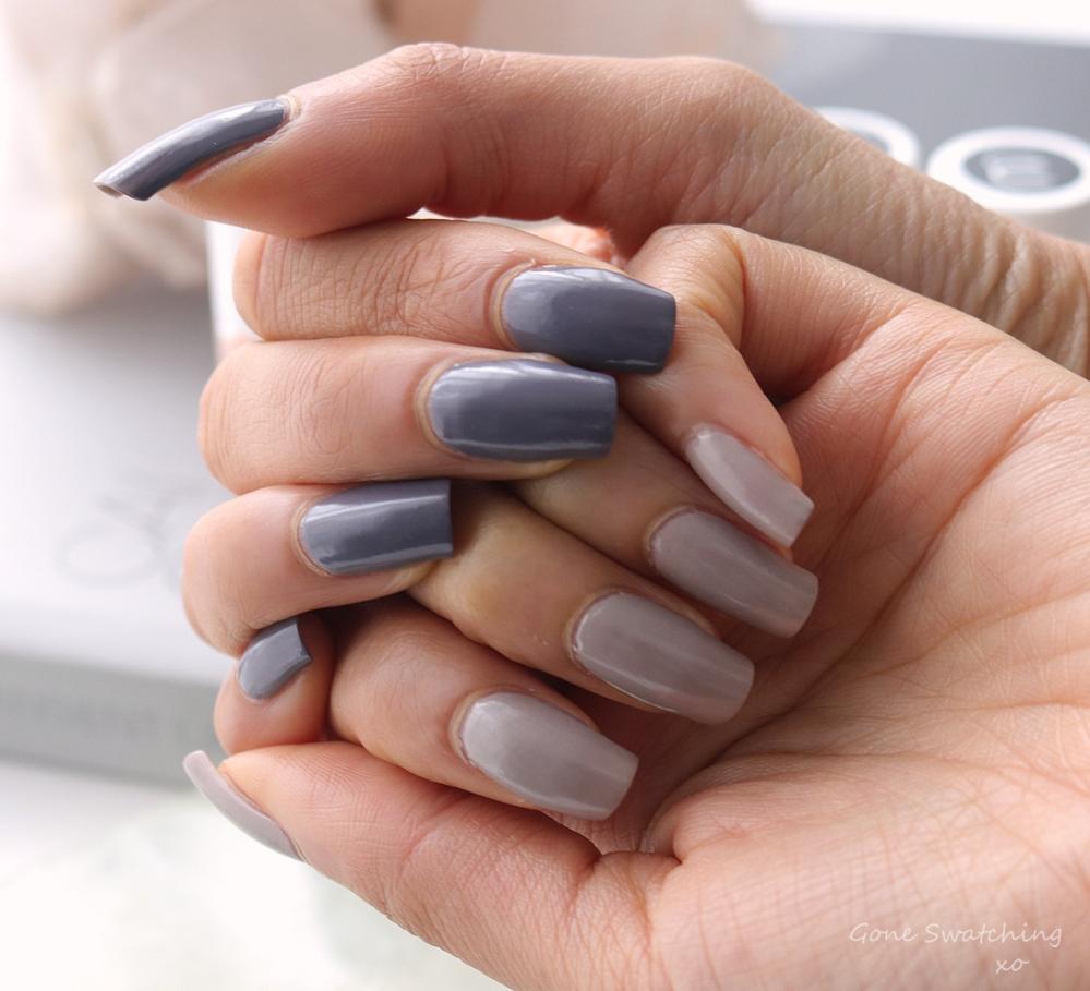 Nailmatic Aqua Nail Polish Review & Swatches. Hazel & Bjork Swatches. Green Beauty Blogger Gone Swatching xo