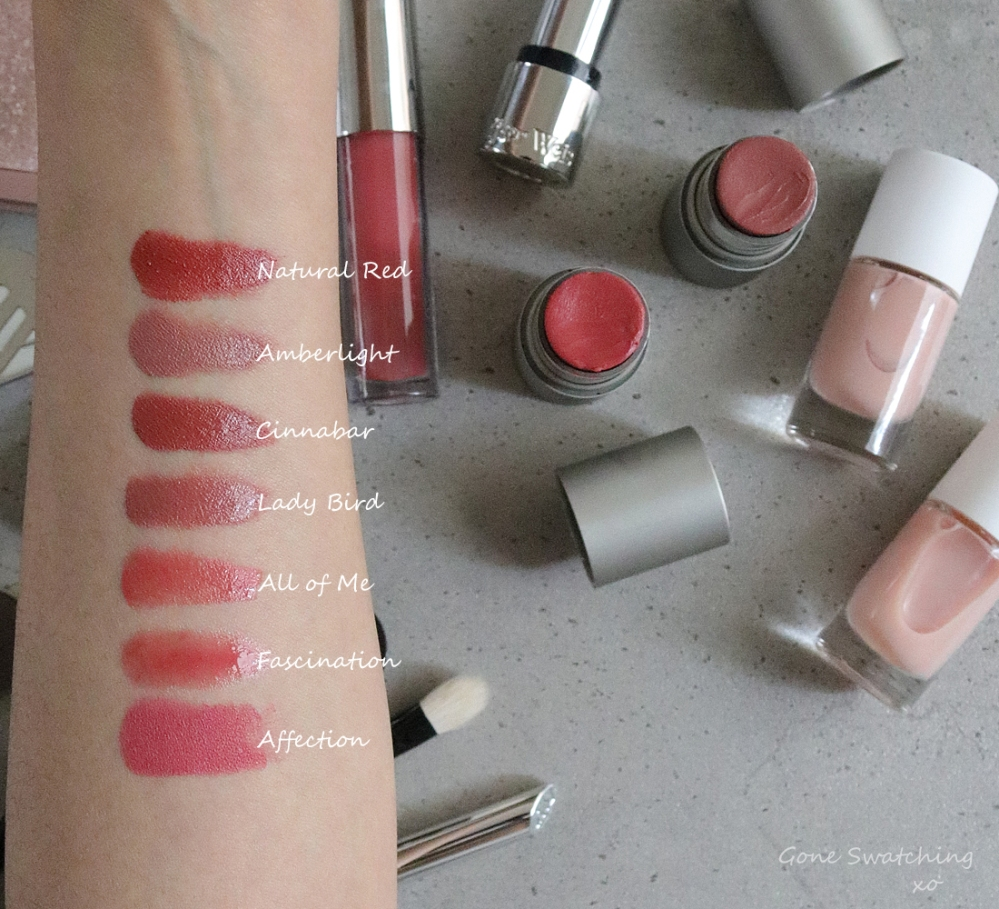 My Best Picks for Organic & Natural Lipstick for My Wedding. Green Beauty Blogger & Lipstick Swatches Gone Swatching xo