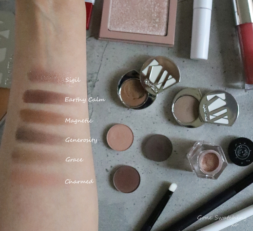 My Organic & Natural Eyeshadow Picks for My Wedding. Green Beauty Blogger & Lipstick Swatches Gone Swatching xo